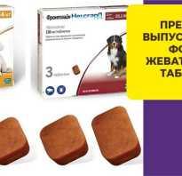 Таблетка от клещей для собак фронтлайн