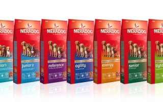 Мерадог корм для щенков