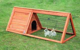 Дом для кроликов своими руками фото