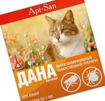 Дана препарат от блох для кошек