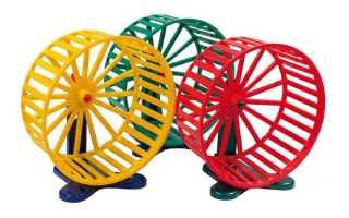Металлическое колесо для хомяка