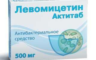 Левомицетин котенку от поноса