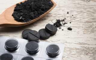 Активированный уголь коту при поносе